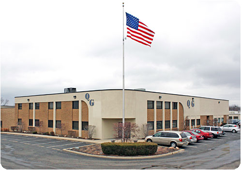 Quality Gold exterior building shot located in Fairfield, OH